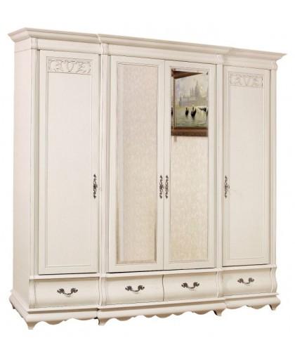 Шкаф 4з Bianco Модеро