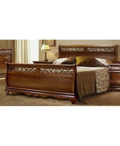 Кровать высокое изножье 160*200 Morrone Модеро