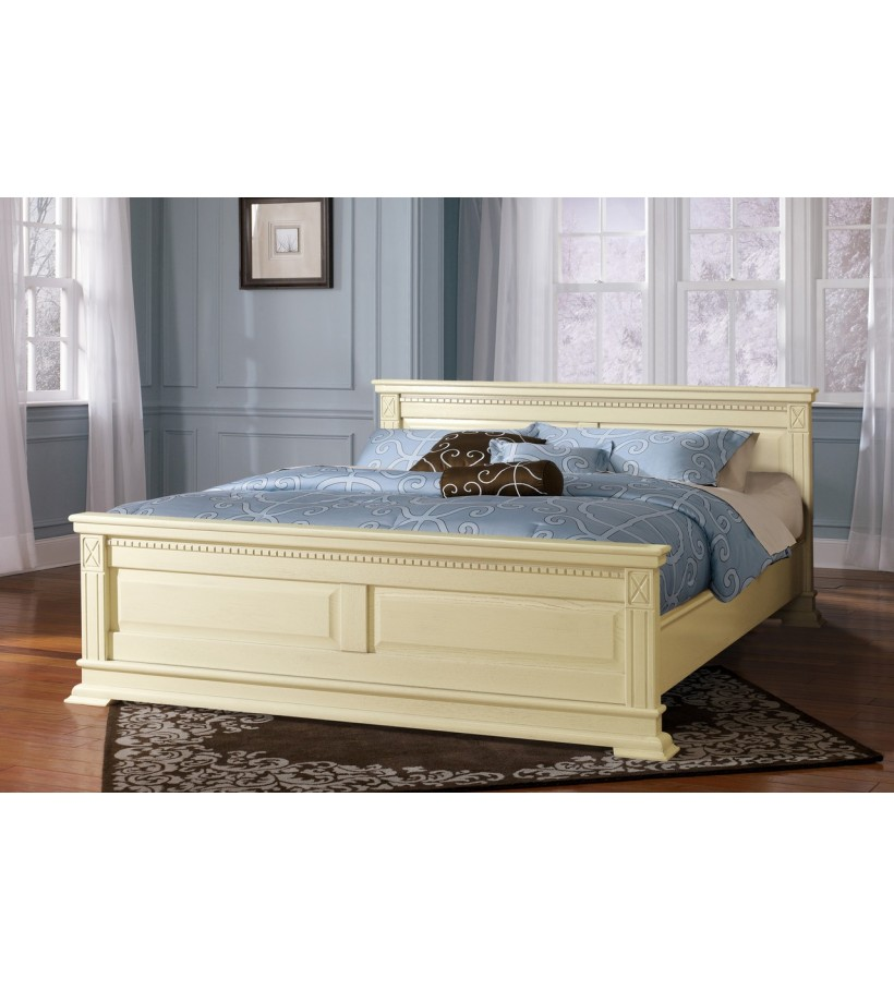 Кровать Верди Люкс слоновая кость